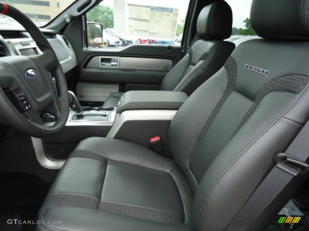 raptor black leathercloth interior 2012 ford f150 svt raptor supercrew 4x4 photo 68035661