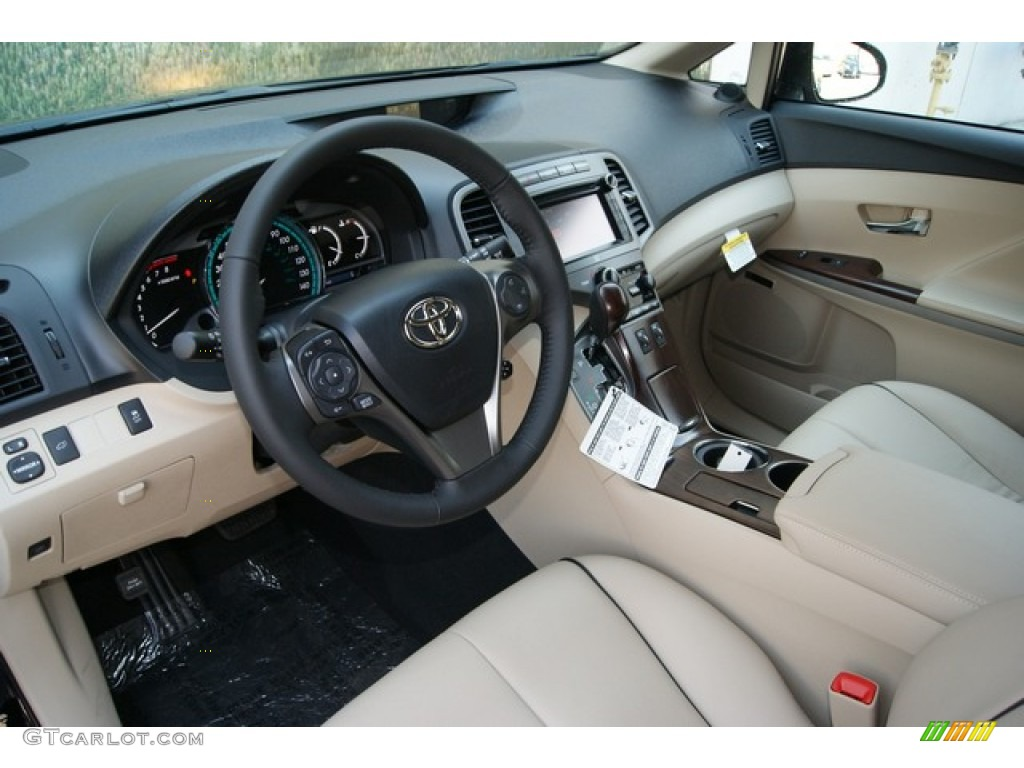 ivory interior 2013 toyota venza xle awd photo 68035769. Black Bedroom Furniture Sets. Home Design Ideas