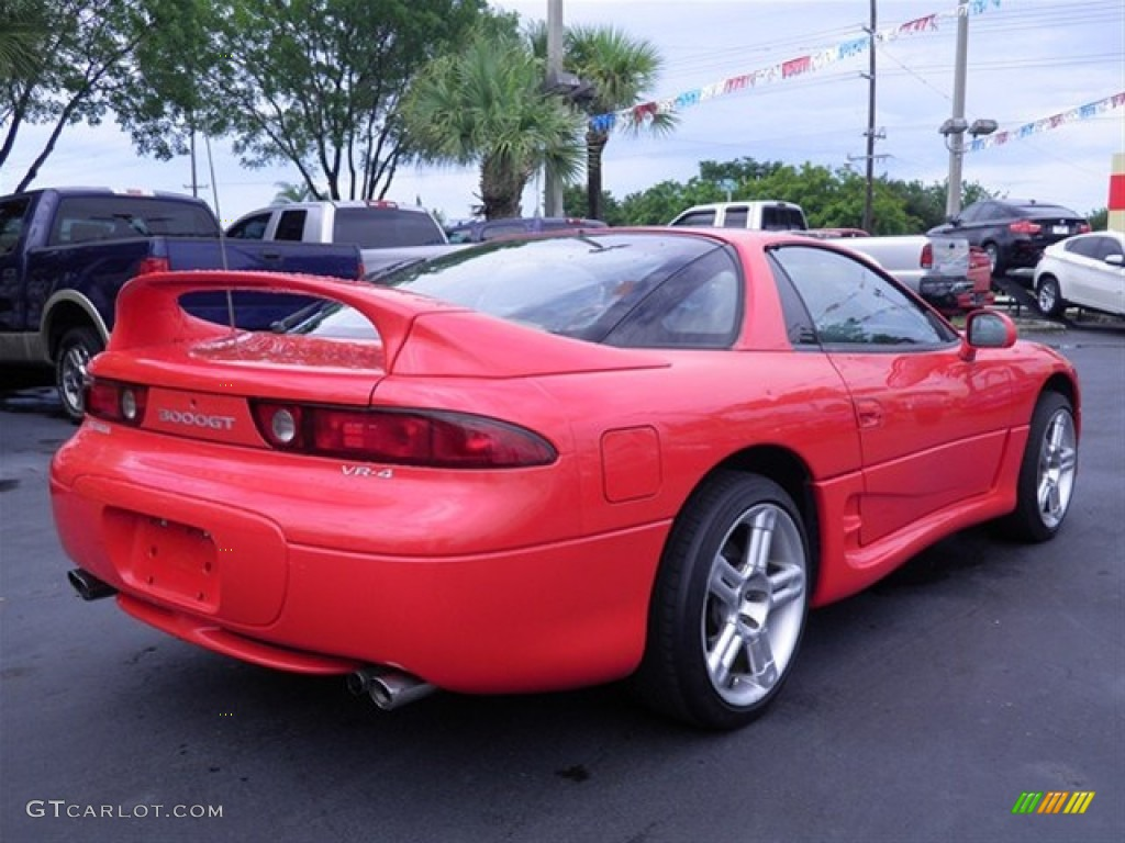Caracas Red 1997 Mitsubishi 3000gt Vr 4 Turbo Exterior