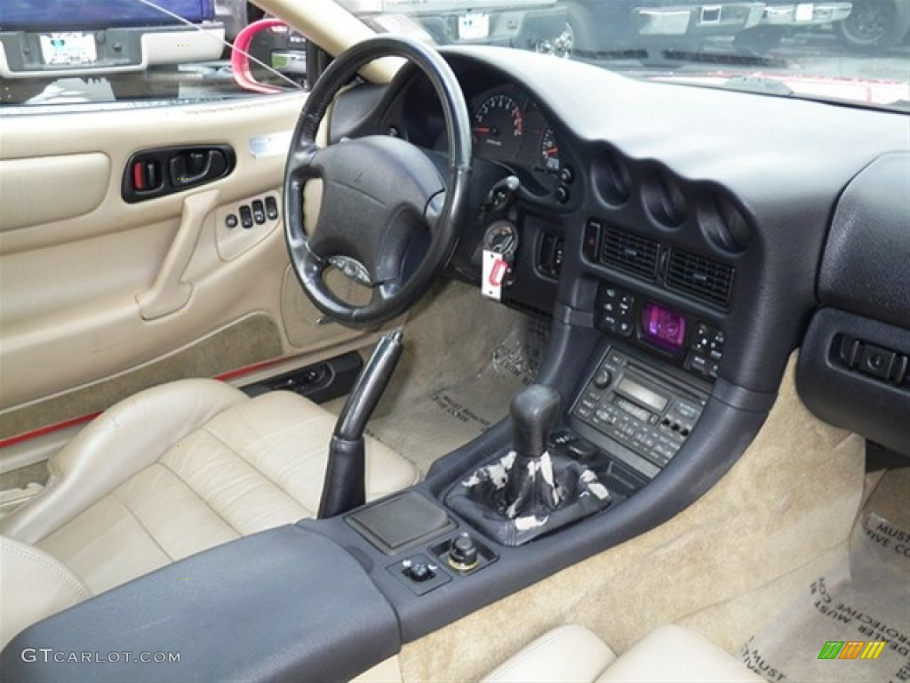 Tan Interior 1997 Mitsubishi 3000GT VR-4 Turbo Photo #68036948 | GTCarLot.com