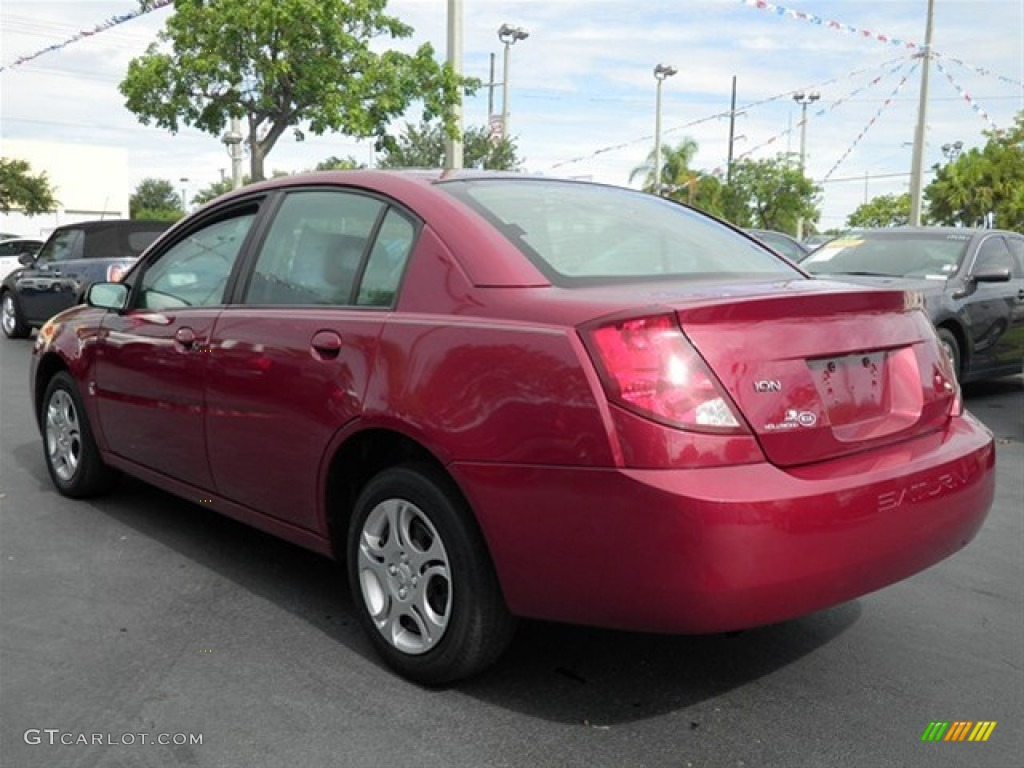 Saturn saturn 2004 : Berry Red 2004 Saturn ION 2 Sedan Exterior Photo #68039384 ...