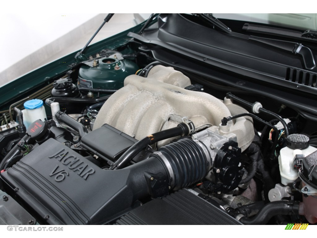 2004 Jaguar X-Type 2.5 2.5 Liter DOHC 24 Valve V6 Engine ...