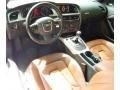 Cinnamon Brown 2010 Audi A5 Interiors