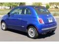 Azzurro (Blue) - 500 c cabrio Lounge Photo No. 5