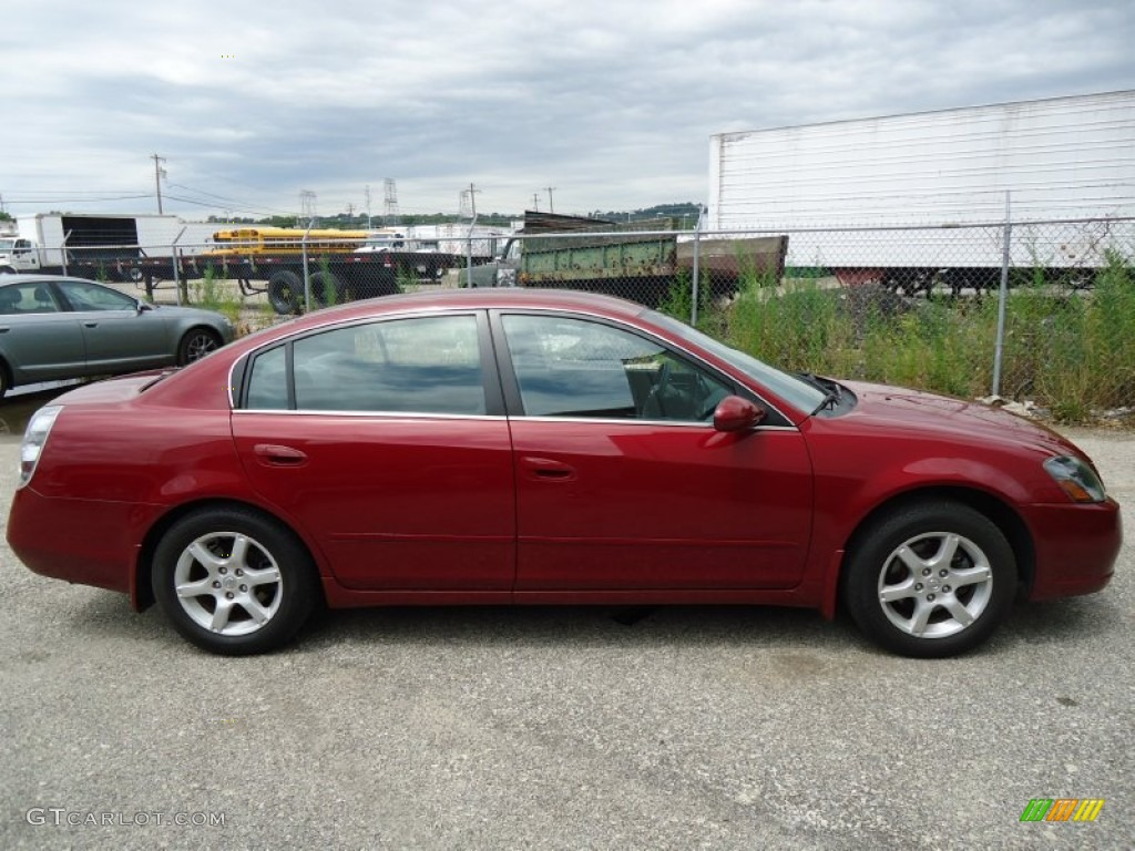 2006 code red metallic nissan altima 2.5 s special edition