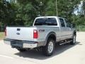2012 Ingot Silver Metallic Ford F250 Super Duty Lariat Crew Cab 4x4  photo #5