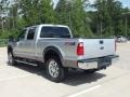 2012 Ingot Silver Metallic Ford F250 Super Duty Lariat Crew Cab 4x4  photo #7