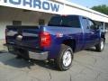 2011 Laser Blue Metallic Chevrolet Silverado 1500 LT Extended Cab 4x4  photo #8