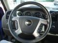 2011 Laser Blue Metallic Chevrolet Silverado 1500 LT Extended Cab 4x4  photo #23
