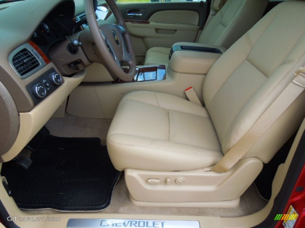 2007 Chevrolet Tahoe Ltz >> Light Cashmere/Dark Cashmere Interior 2013 Chevrolet Tahoe ...