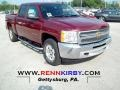 Deep Ruby Metallic 2012 Chevrolet Silverado 1500 Gallery