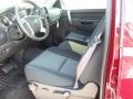2012 Deep Ruby Metallic Chevrolet Silverado 1500 LT Crew Cab 4x4  photo #17