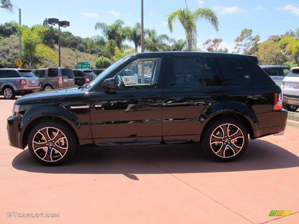 2013 santorini black land rover range rover sport hse 68093286 photo 2 car. Black Bedroom Furniture Sets. Home Design Ideas