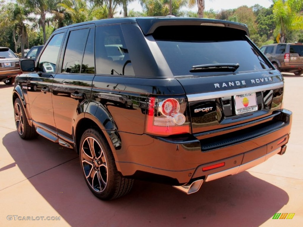 2013 santorini black land rover range rover sport hse 68093286 photo 3 car. Black Bedroom Furniture Sets. Home Design Ideas