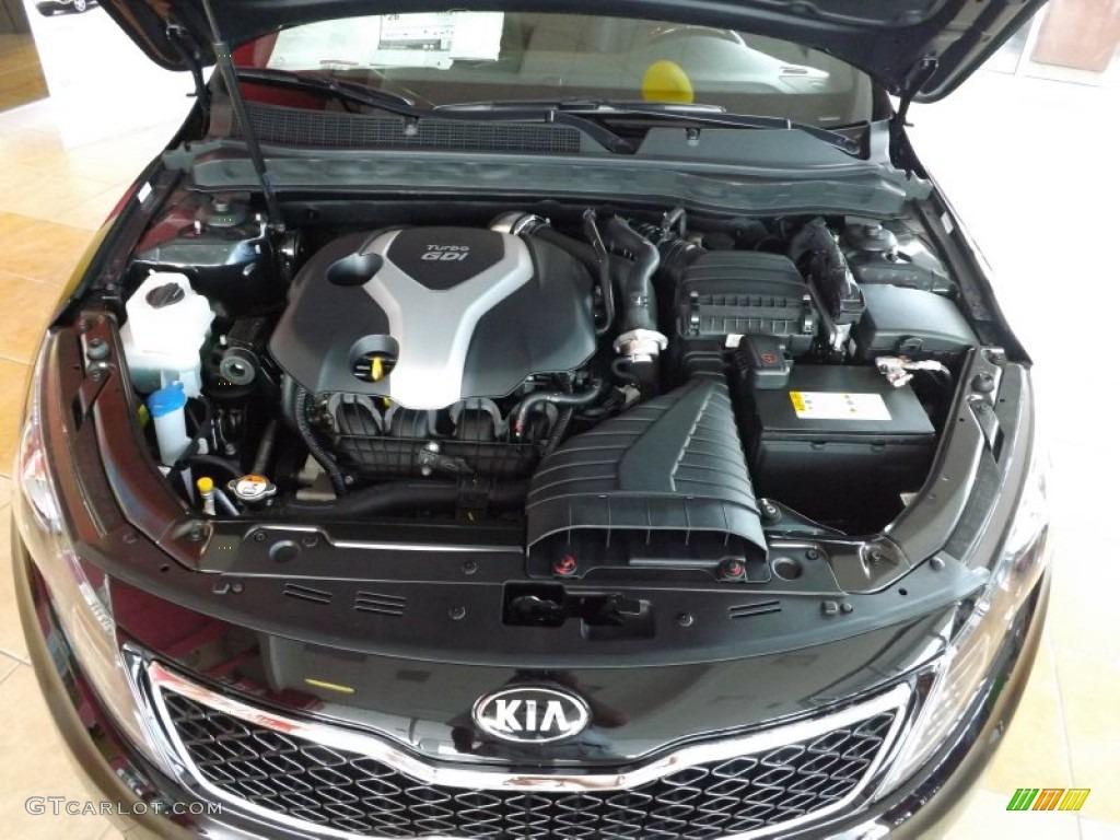 2013 Kia Optima SX Limited 2.0 Liter GDI Turbocharged DOHC 16 Valve 4  Cylinder Engine