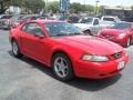 2001 Performance Red Ford Mustang V6 Coupe #68093275
