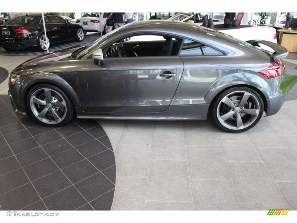 2013 Daytona Gray Pearl Effect Audi Tt Rs Quattro Coupe 68093892