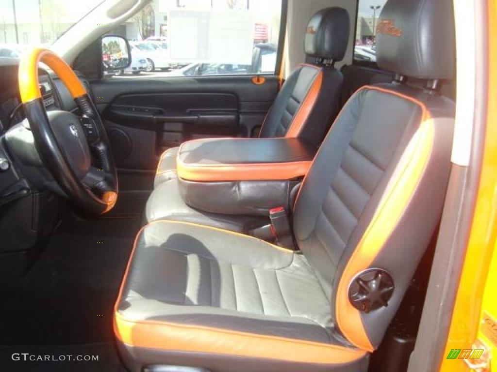 2005 custom orange dodge ram 1500 gtxtreme regular cab 6789738 photo 9 car. Black Bedroom Furniture Sets. Home Design Ideas