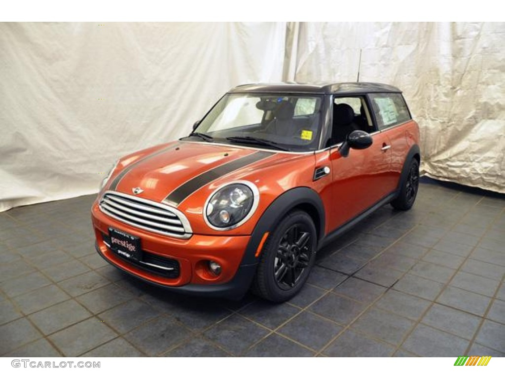 2012 spice orange metallic mini cooper clubman 68093214 car color galleries. Black Bedroom Furniture Sets. Home Design Ideas