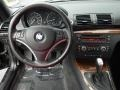 2008 BMW 1 Series Coral Red Interior Dashboard Photo