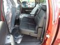 Ebony Rear Seat Photo for 2013 Chevrolet Silverado 1500 #68144843