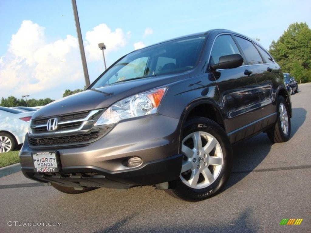 2011 CR-V SE - Urban Titanium Metallic / Black photo #1