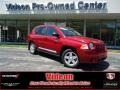 Inferno Red Crystal Pearl 2010 Jeep Compass Latitude 4x4