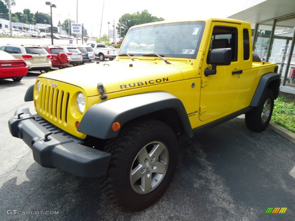 Detonator yellow 2008 jeep wrangler unlimited rubicon jk 8 for 2008 jeep wrangler motor
