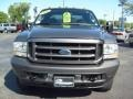 2004 Dark Shadow Grey Metallic Ford F250 Super Duty XLT Crew Cab 4x4  photo #8