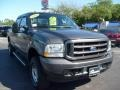 2004 Dark Shadow Grey Metallic Ford F250 Super Duty XLT Crew Cab 4x4  photo #9