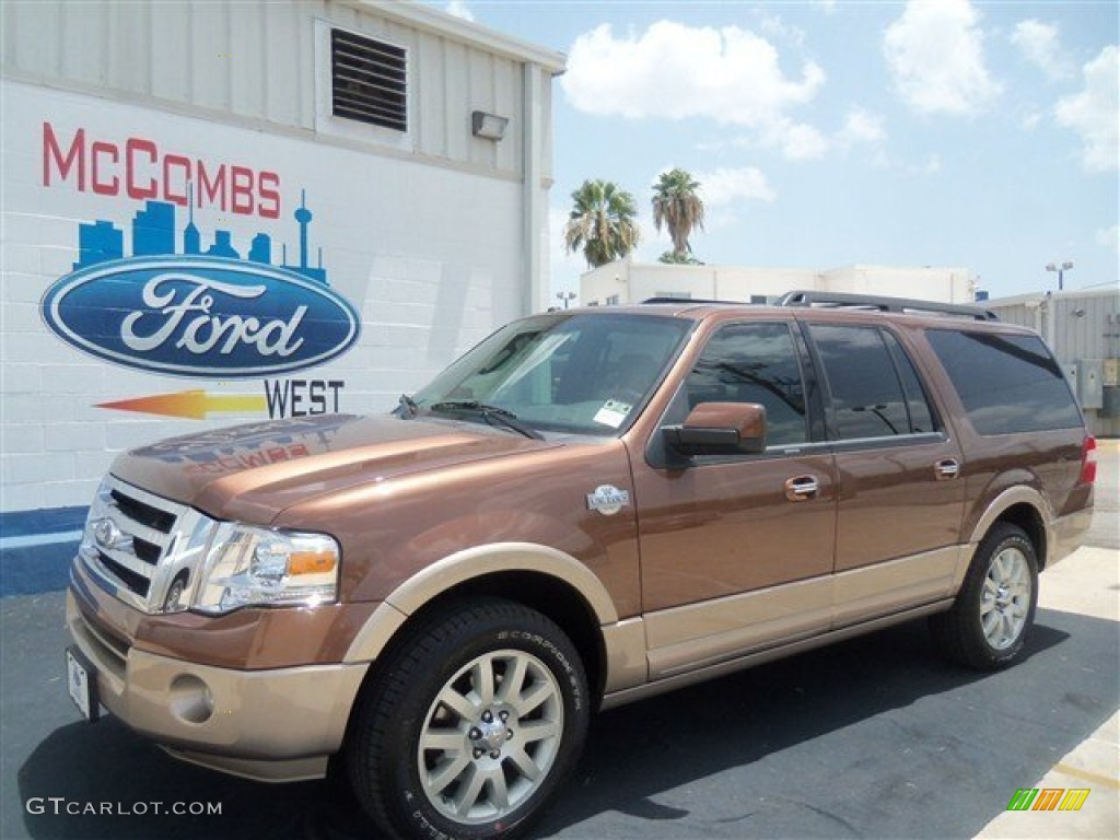 2012 golden bronze metallic ford expedition el king ranch. Black Bedroom Furniture Sets. Home Design Ideas