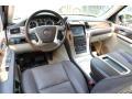 2009 Cadillac Escalade Cocoa/Very Light Linen Interior Prime Interior Photo