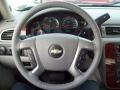 2012 Blue Granite Metallic Chevrolet Silverado 1500 LTZ Crew Cab 4x4  photo #20