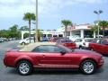 2007 Redfire Metallic Ford Mustang V6 Deluxe Convertible  photo #6