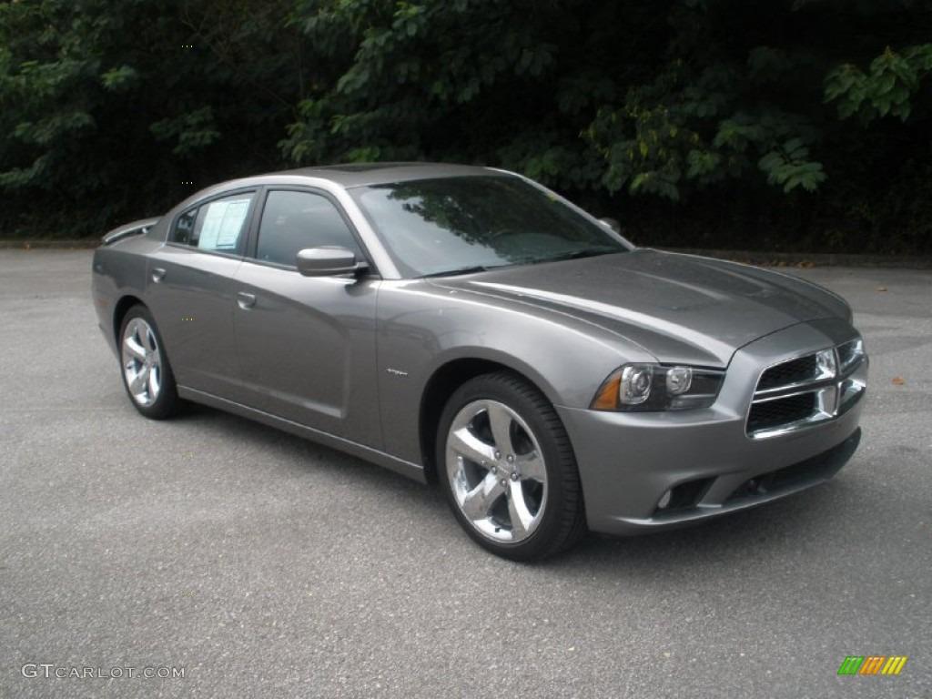 2011 Tungsten Metallic Dodge Charger R/T Plus #68153133