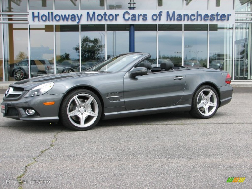 2009 Designo Graphite Metallic Mercedes Benz Sl 550