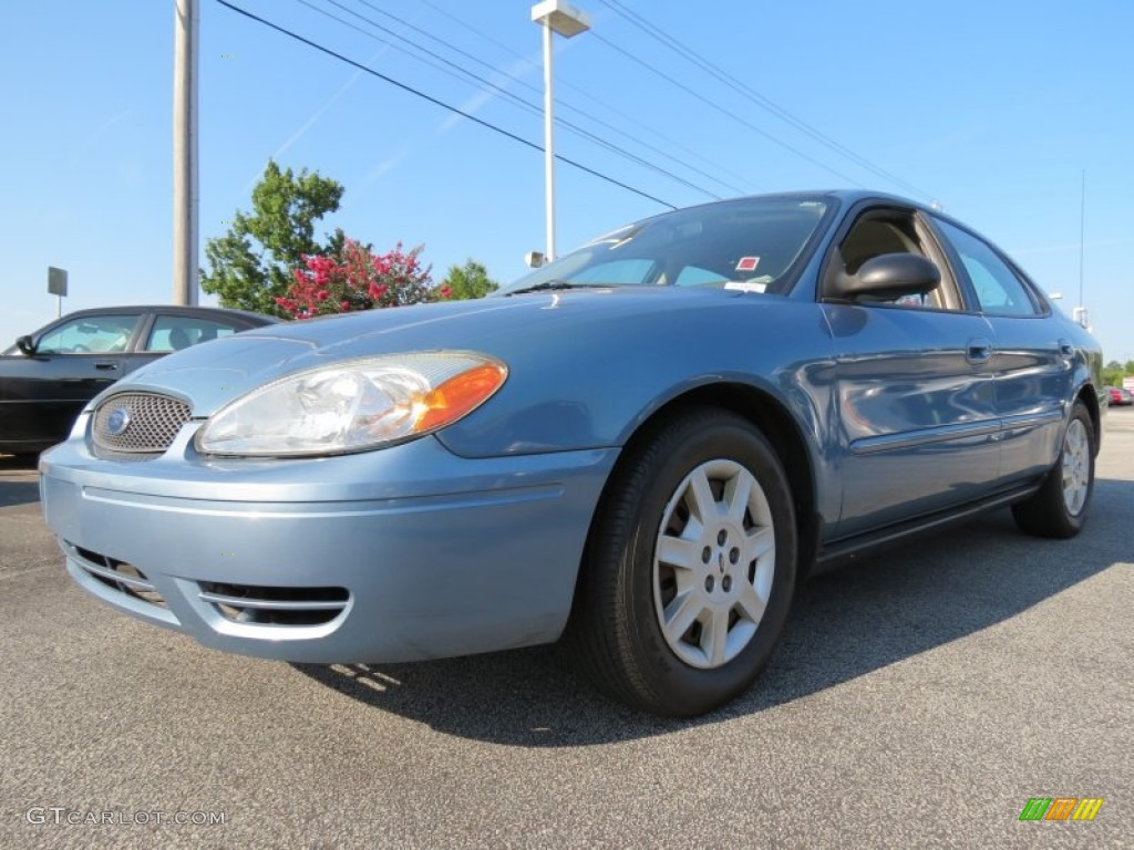 windveil blue metallic 2007 ford taurus se exterior photo. Black Bedroom Furniture Sets. Home Design Ideas