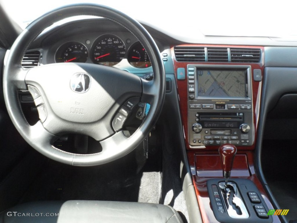 2004 Acura Rl 3 5 Ebony Dashboard Photo 68220070