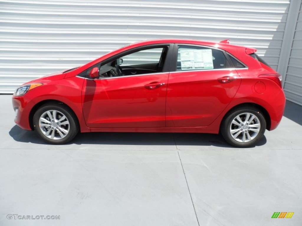 Volcanic Red 2013 Hyundai Elantra Gt Exterior Photo