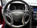Black Steering Wheel Photo for 2013 Hyundai Elantra #68220517