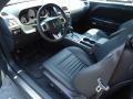 Dark Slate Gray Prime Interior Photo for 2012 Dodge Challenger #68225224