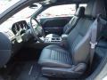 Dark Slate Gray Front Seat Photo for 2012 Dodge Challenger #68225233
