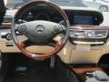 Sahara Beige/Black Dashboard Photo for 2013 Mercedes-Benz S #68229742