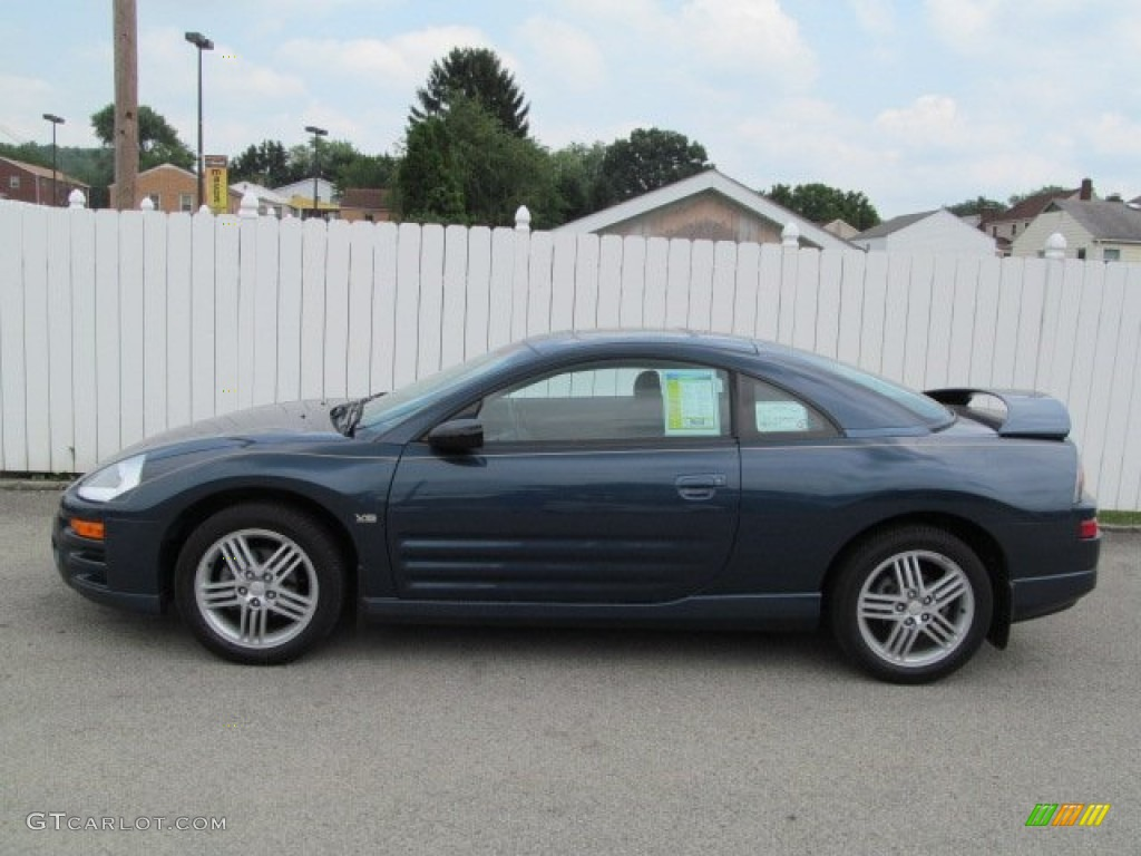 Steel blue pearl 2004 mitsubishi eclipse gt coupe exterior photo 68232346