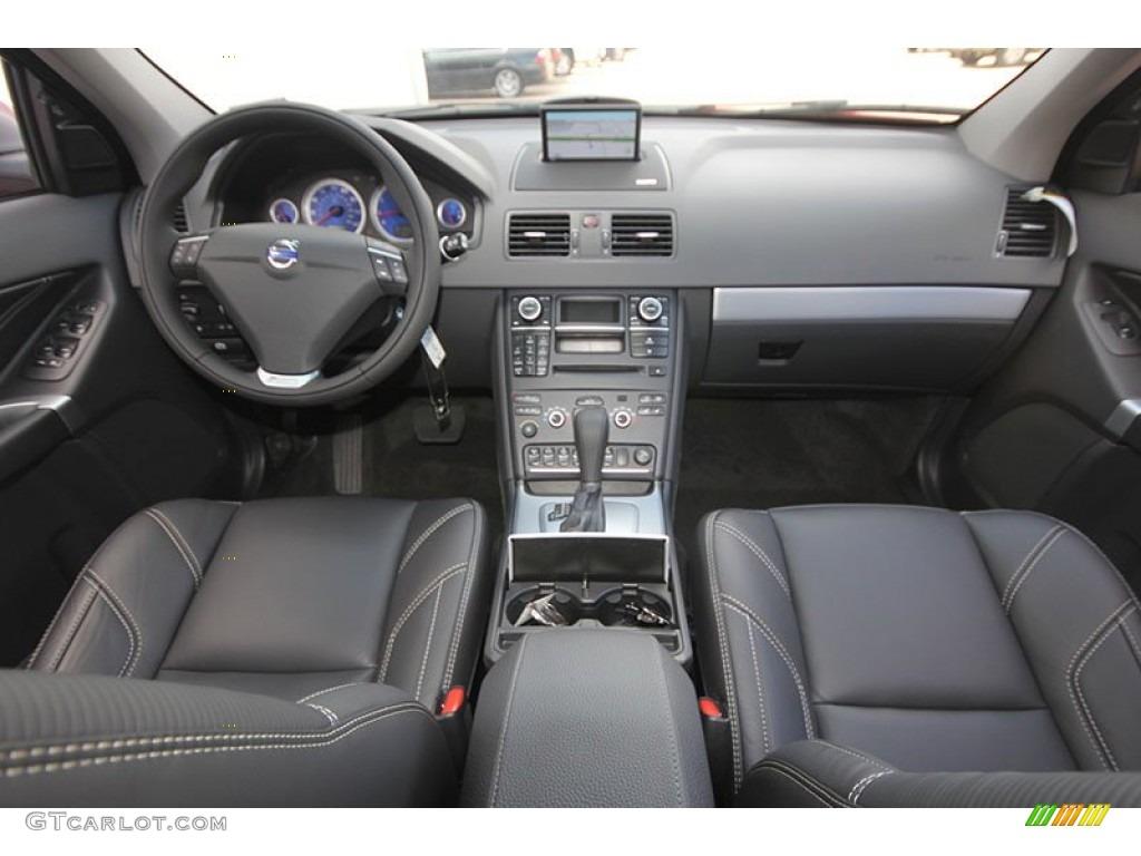 2013 Volvo Xc90 3 2 R Design Off Black Dashboard Photo