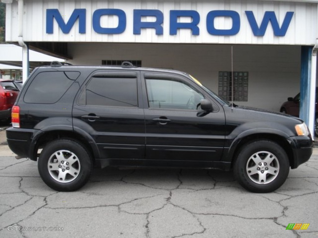 Black ford escape