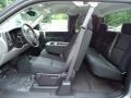 2013 Silver Ice Metallic Chevrolet Silverado 1500 LS Extended Cab 4x4  photo #13