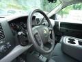 2013 Silver Ice Metallic Chevrolet Silverado 1500 LS Extended Cab 4x4  photo #15