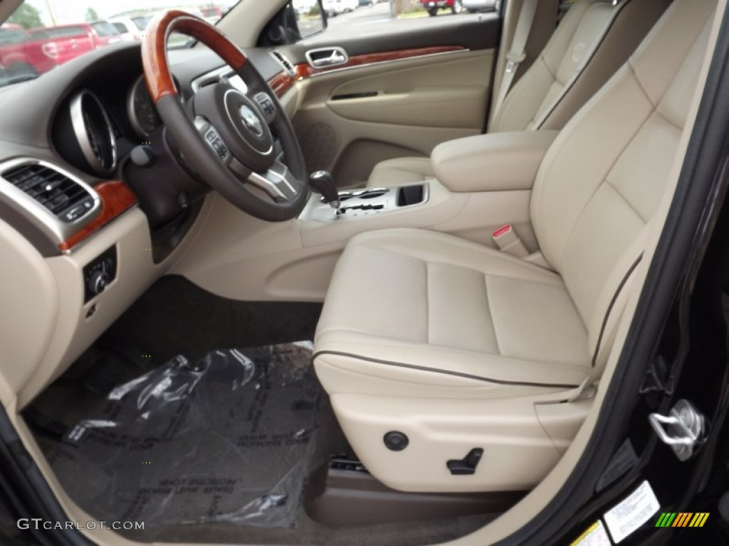 2012 jeep grand cherokee overland interior photos. Black Bedroom Furniture Sets. Home Design Ideas