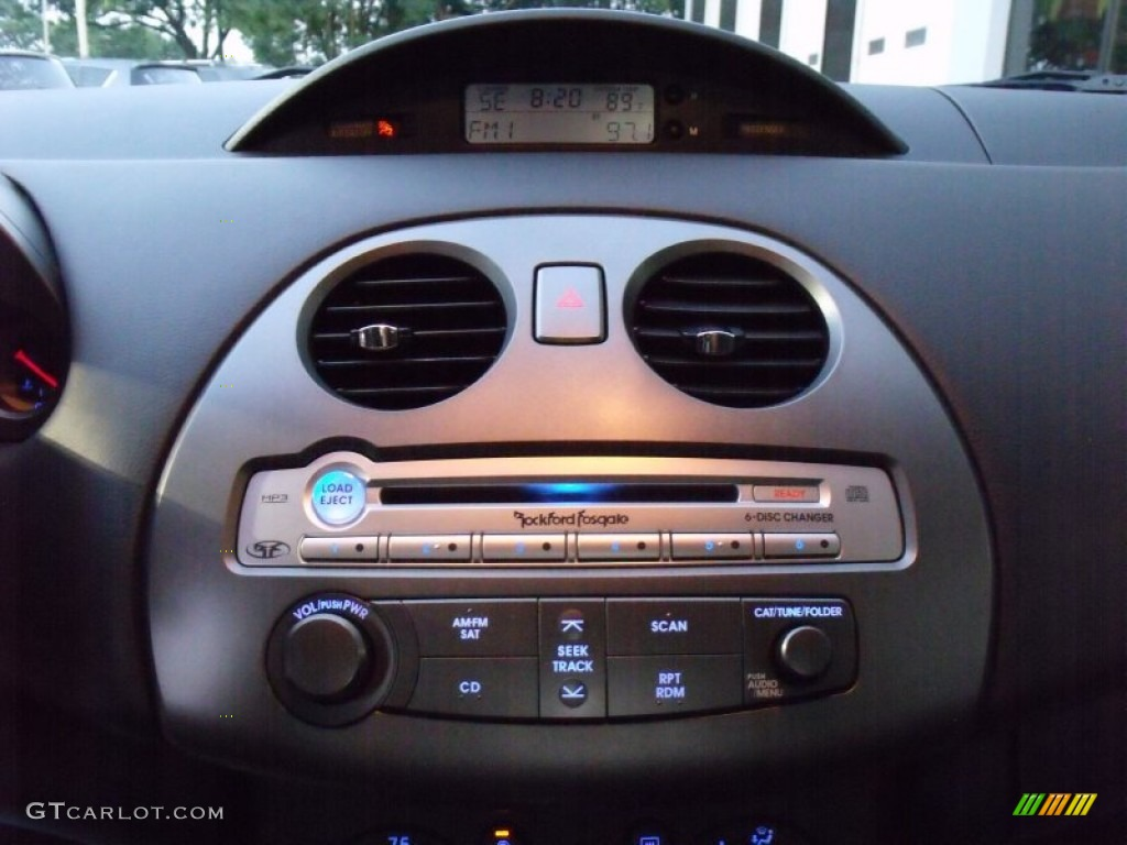 2008 Mitsubishi Eclipse Gt Coupe Audio System Photos
